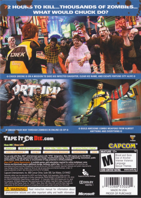 Dead Rising 2 For Xbox 360 Sales Wiki Release Dates Review