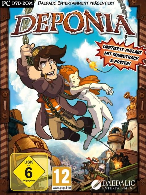 Deponia for PC Walkthrough, FAQs and Guide on Gamewise.co