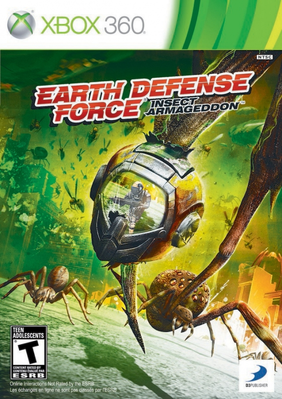 Earth Defense Force: Insect Armageddon on X360 - Gamewise