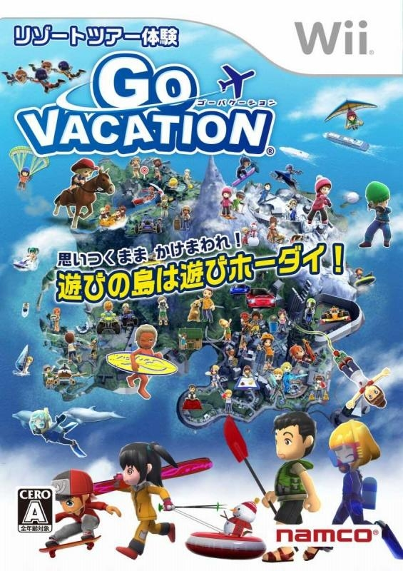 Go Vacation for Wii Walkthrough, FAQs and Guide on Gamewise.co
