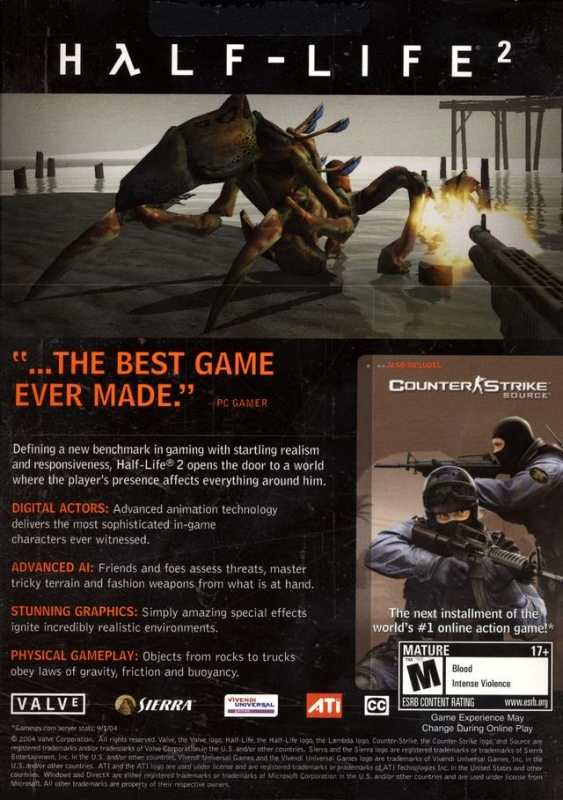 Half-Life 2 for Microsoft Windows - Sales, Wiki, Release