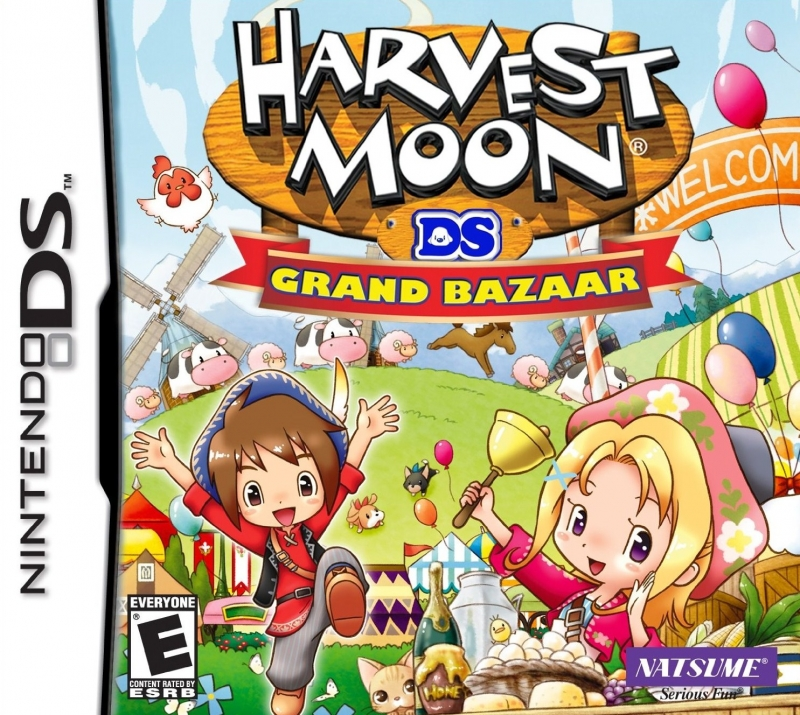 Harvest Moon: Grand Bazaar for DS Walkthrough, FAQs and Guide on Gamewise.co