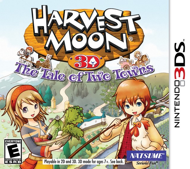 Harvest Moon: The Tale of Two Towns Cheats, Codes, Hints and Tips - 3DS