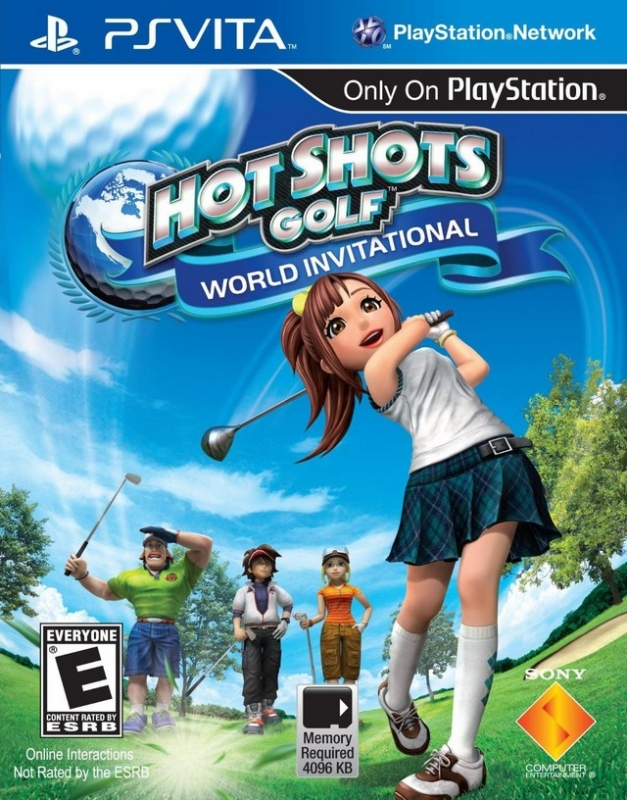 Everybody's Golf: World Invitational for PSV Walkthrough, FAQs and Guide on Gamewise.co