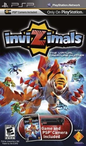 Invizimals on PSP - Gamewise