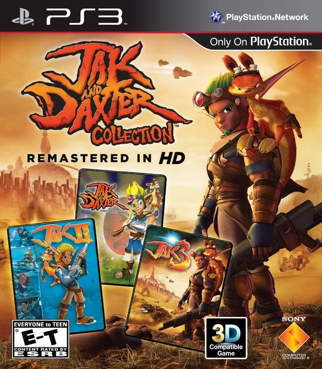 The Jak and Daxter Trilogy on PS3 - Gamewise