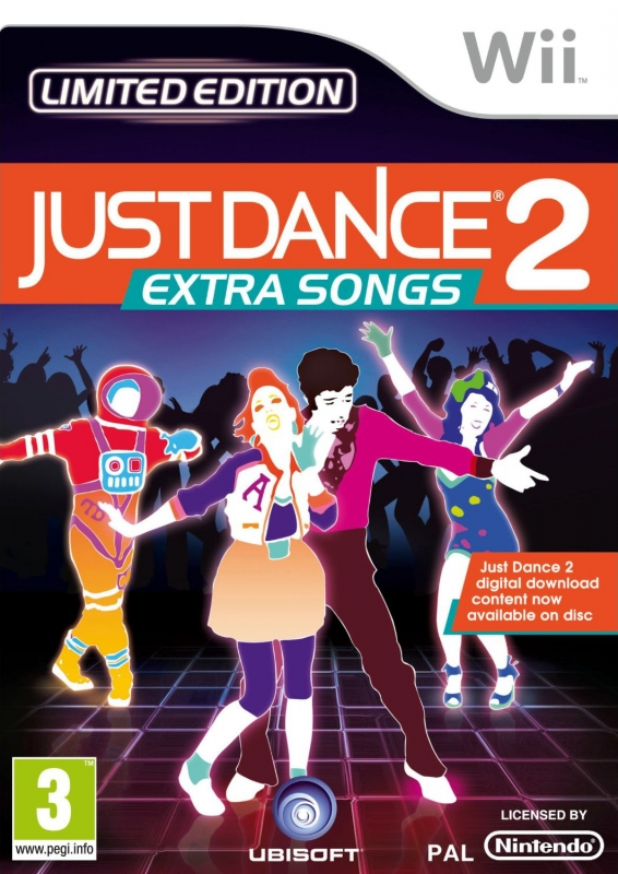 Just Dance 2: Extra Songs [Gamewise]