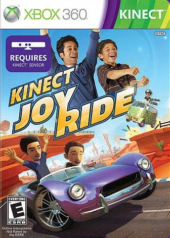 Kinect Joy Ride on X360 - Gamewise