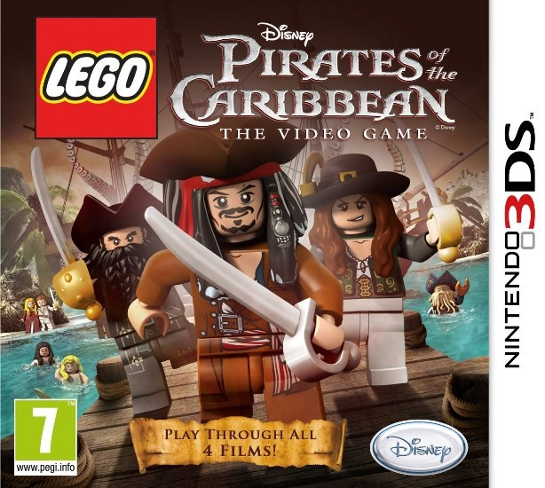 lego pirates of the caribbean cheats 3ds