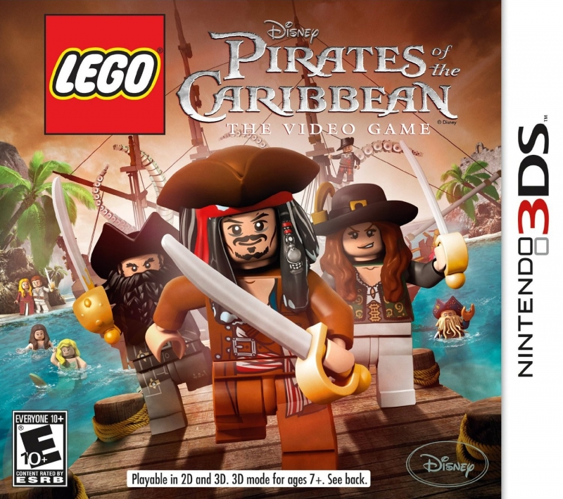 LEGO Pirates of the Caribbean: The Video Game on 3DS - Gamewise