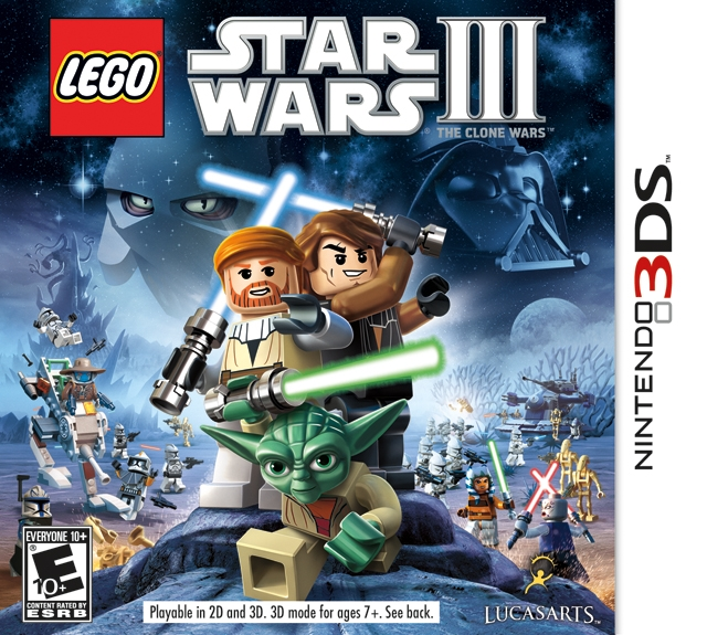 LEGO Star Wars III: The Clone Wars on 3DS - Gamewise