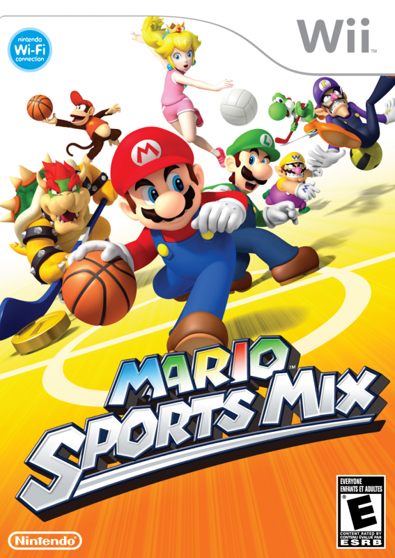 Mario Sports Mix Wiki - Gamewise