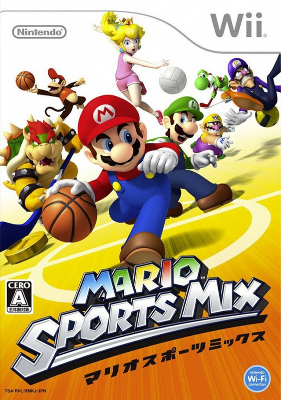 Mario Sports Mix on Wii - Gamewise