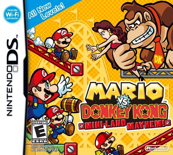 Gamewise Mario vs. Donkey Kong: Mini-Land Mayhem! Wiki Guide, Walkthrough and Cheats