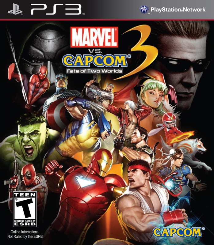 Marvel vs. Capcom 3: Fate of Two Worlds on PS3 - Gamewise
