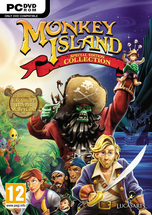 Monkey Island: Special Edition Collection [Gamewise]