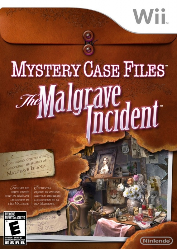 Mystery Case Files: The Malgrave Incident on Wii - Gamewise
