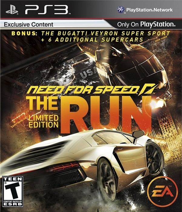 Need for Speed: The Run for PS3 Walkthrough, FAQs and Guide on Gamewise.co