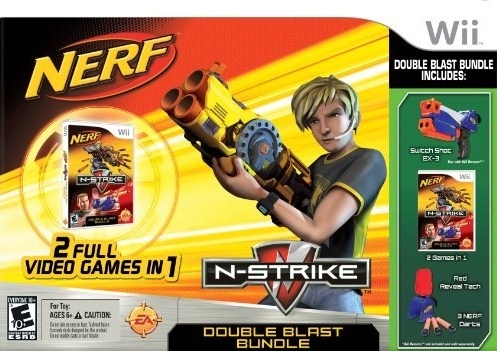 NERF N-Strike: Double Blast Bundle Wiki - Gamewise