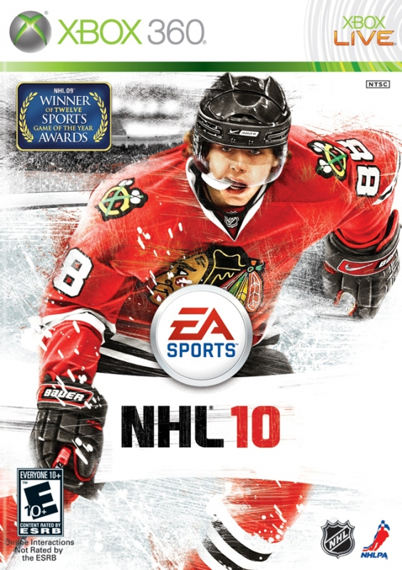 NHL 10 on X360 - Gamewise