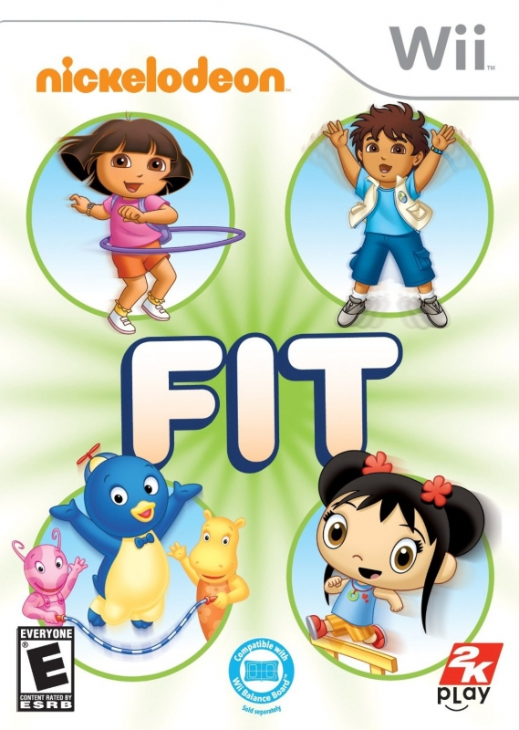 Nickelodeon Fit on Wii - Gamewise