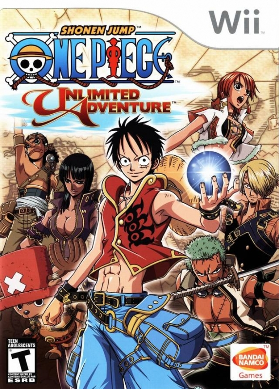 One Piece: Unlimited Adventure for Wii Walkthrough, FAQs and Guide on Gamewise.co