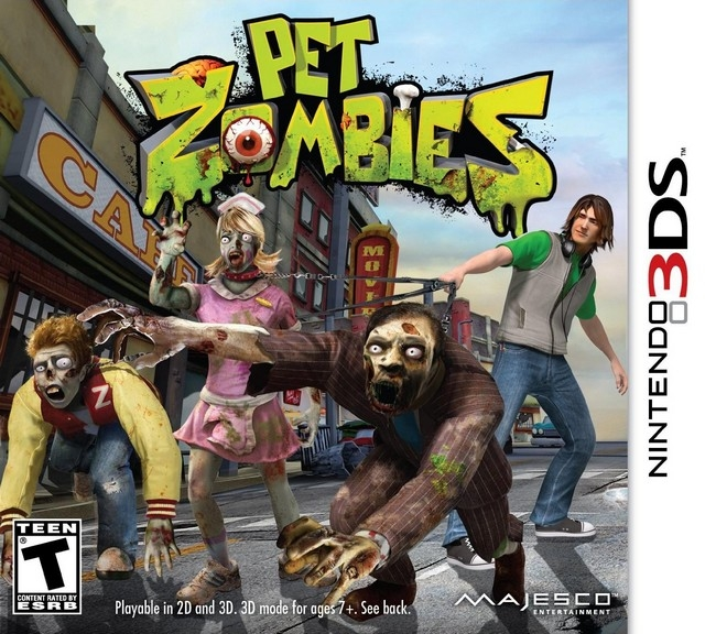 Pet Zombies [Gamewise]