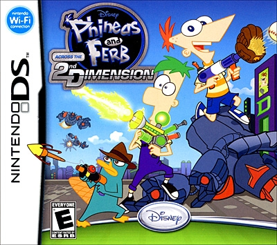 Phineas and Ferb: Across the 2nd Dimension for DS Walkthrough, FAQs and Guide on Gamewise.co