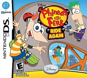 Phineas and Ferb Ride Again on DS - Gamewise