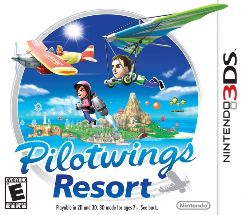 Gamewise PilotWings Resort Wiki Guide, Walkthrough and Cheats