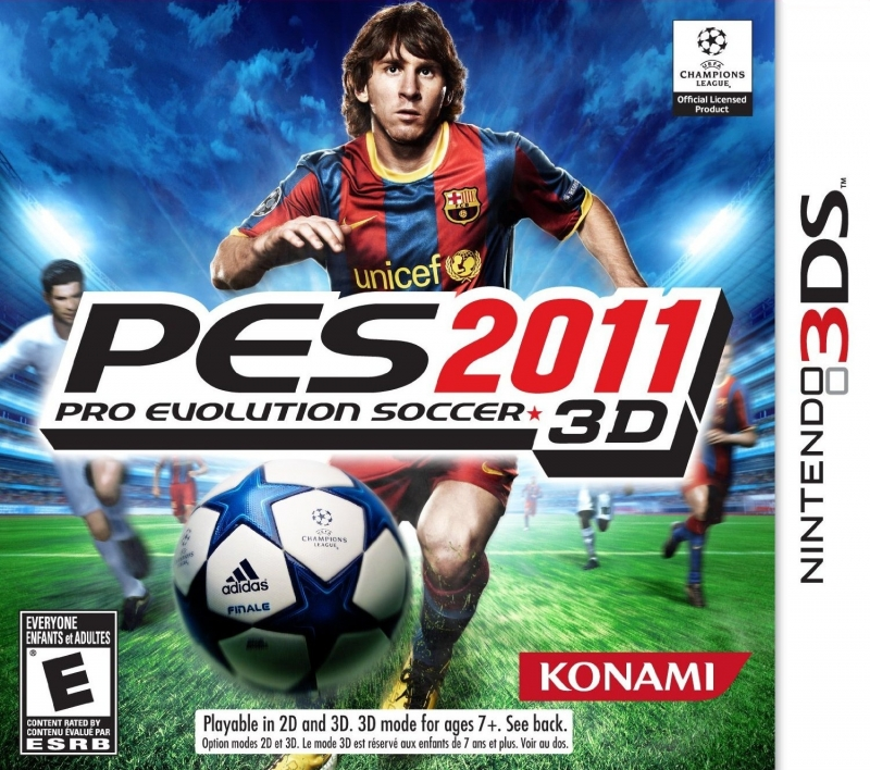 Pro Evolution Soccer 2011 3D on 3DS - Gamewise