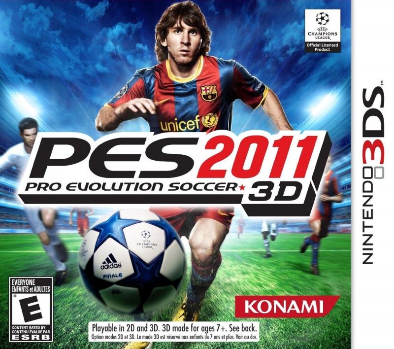 Pro Evolution Soccer 2011 3D on 3DS - Gamewise
