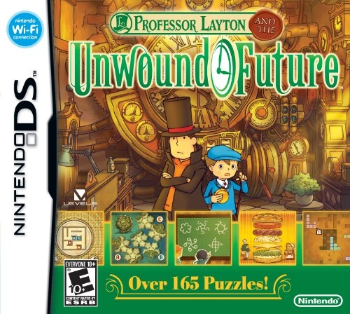 Professor Layton and the Lost Future on DS - Gamewise