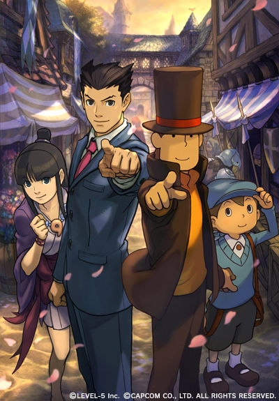 Professor Layton vs Pheonix Wright: Ace Attorney | Gamewise