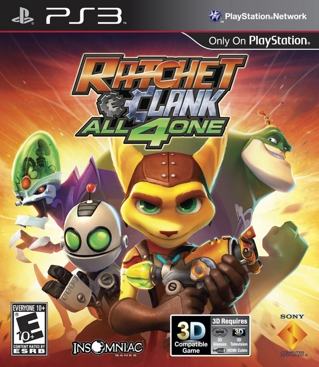 Ratchet & Clank: All 4 One for PS3 Walkthrough, FAQs and Guide on Gamewise.co
