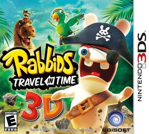 Raving Rabbids: Travel in Time 3D on 3DS - Gamewise