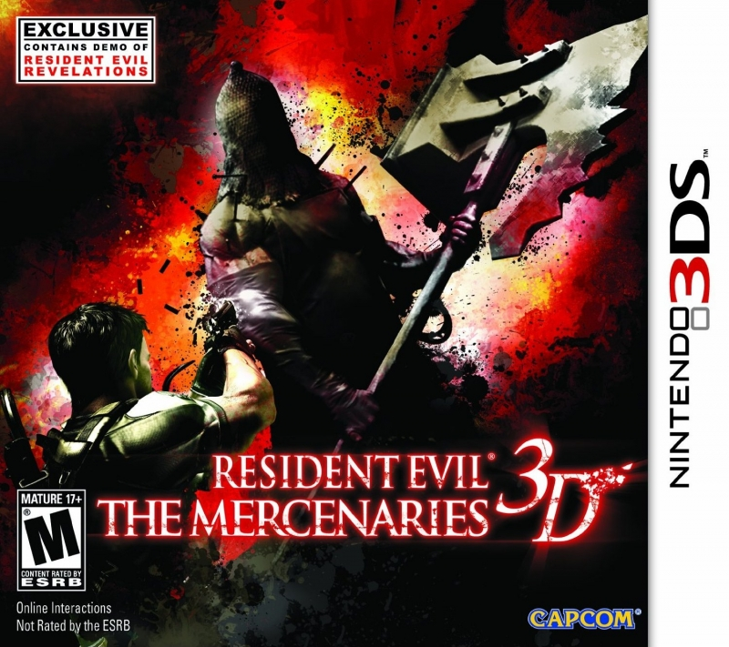 Resident Evil: The Mercenaries 3D Wiki - Gamewise