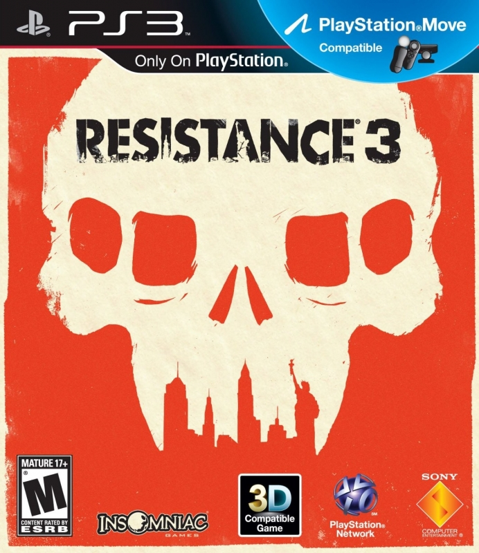 Resistance 3 for PS3 Walkthrough, FAQs and Guide on Gamewise.co