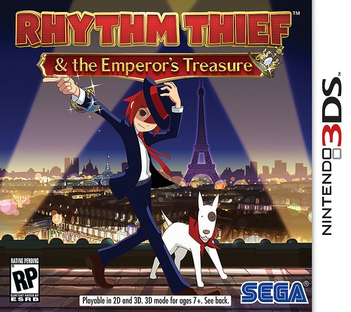 Rhythm Thief & the Emperor's Treasure on 3DS - Gamewise