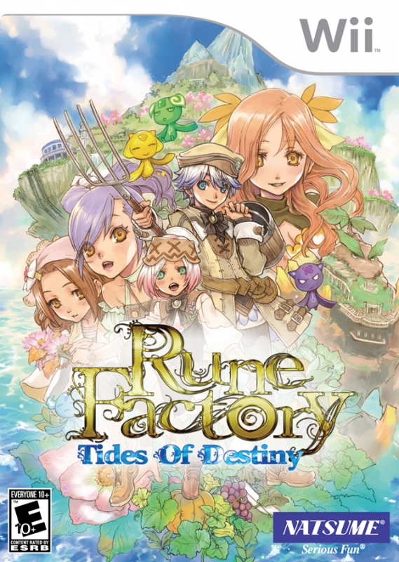 Rune Factory: Tides of Destiny on Wii - Gamewise