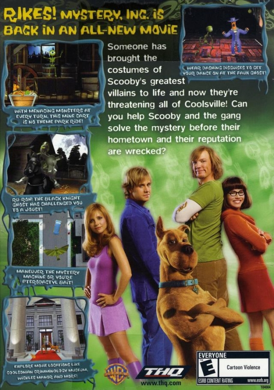 Scooby Doo 2 Monsters Unleashed For Microsoft Windows Sales Wiki Release Dates Review Cheats Walkthrough