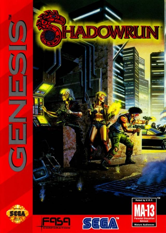 Shadowrun for Sega Genesis - Sales, Wiki, Release Dates