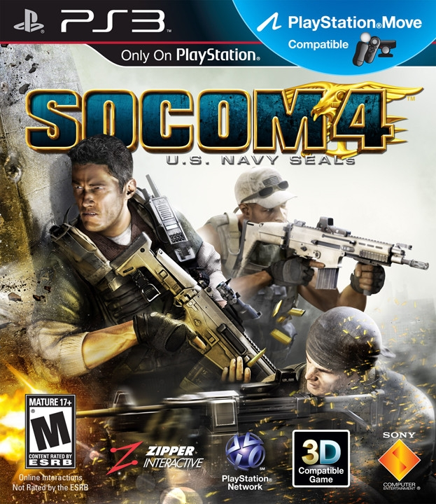 SOCOM 4: U.S. Navy SEALs on PS3 - Gamewise