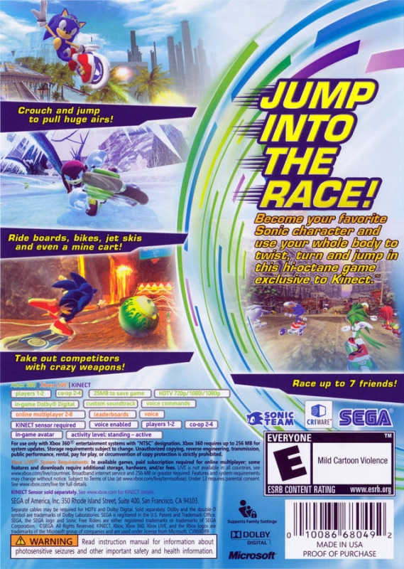 sonic free games