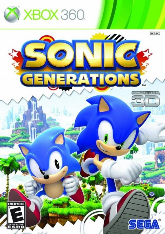 Sonic Generations on X360 - Gamewise