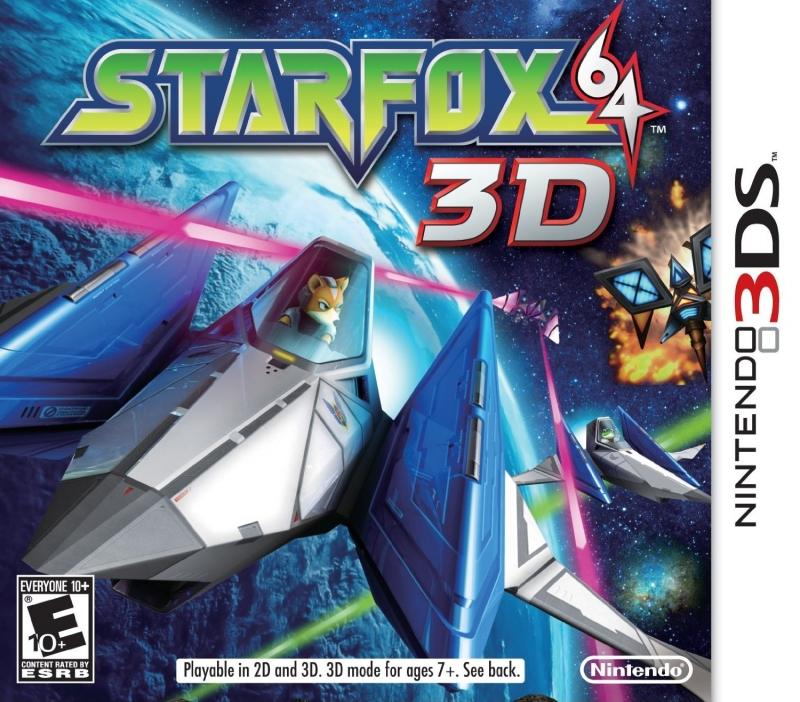 Star Fox 64 3D for 3DS Walkthrough, FAQs and Guide on Gamewise.co