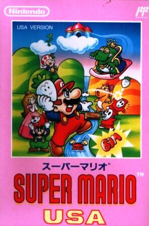 Super Mario USA on NES - Gamewise