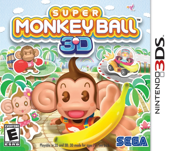 Super Monkey Ball 3D on 3DS - Gamewise