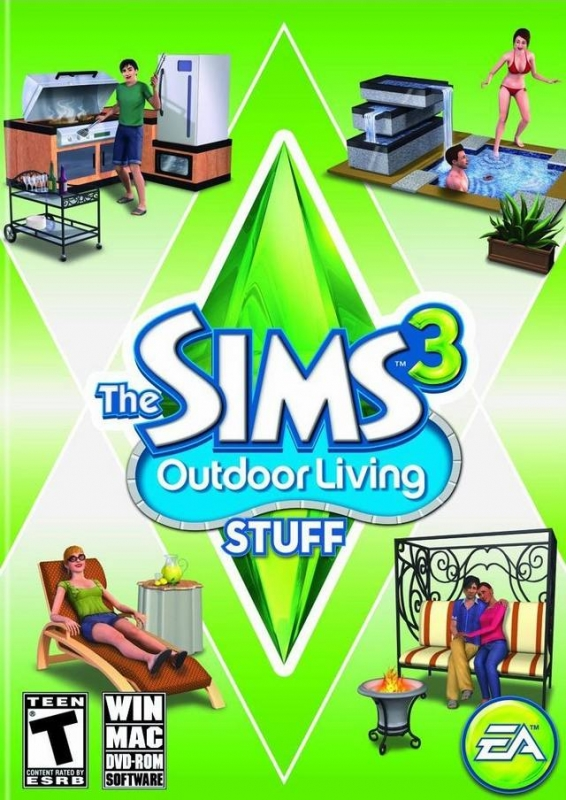 Gamewise The Sims 3: Outdoor Living Stuff Wiki Guide, Walkthrough and Cheats