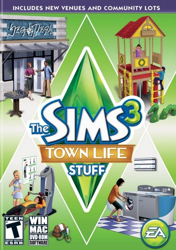The Sims 3: Town Life Stuff [Gamewise]